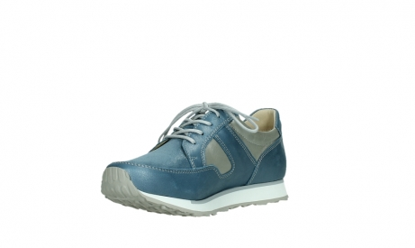 wolky lace up shoes 05811 e walk xw 87860 steel blue pearl stretch leather_10