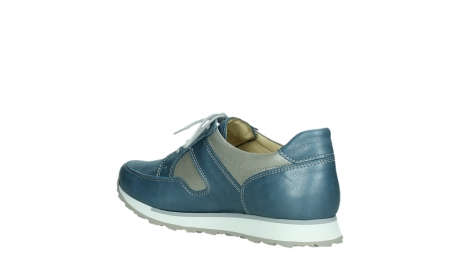 wolky lace up shoes 05811 e walk xw 87860 steel blue pearl stretch leather_16