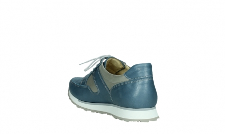 wolky lace up shoes 05811 e walk xw 87860 steel blue pearl stretch leather_17