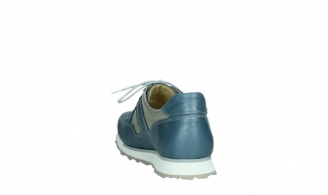 wolky lace up shoes 05811 e walk xw 87860 steel blue pearl stretch leather_18