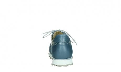 wolky lace up shoes 05811 e walk xw 87860 steel blue pearl stretch leather_19