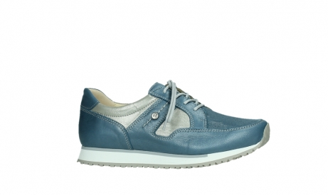wolky lace up shoes 05811 e walk xw 87860 steel blue pearl stretch leather_2