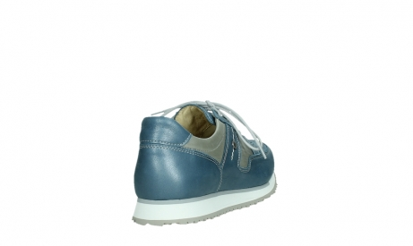 wolky lace up shoes 05811 e walk xw 87860 steel blue pearl stretch leather_21