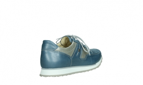 wolky lace up shoes 05811 e walk xw 87860 steel blue pearl stretch leather_22