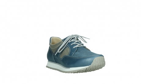 wolky lace up shoes 05811 e walk xw 87860 steel blue pearl stretch leather_5