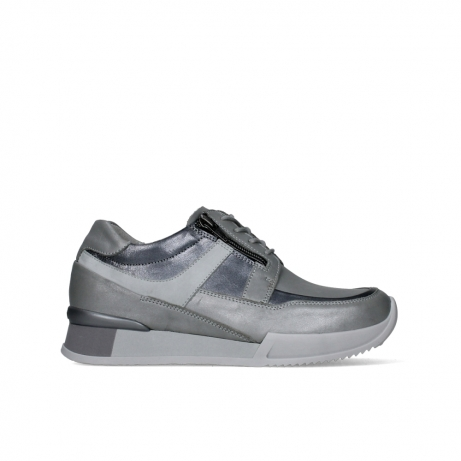 wolky lace up shoes 05882 field 20206 light grey leather