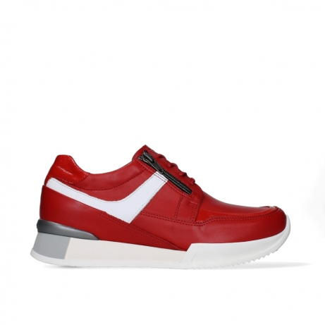 wolky lace up shoes 05882 field 36570 red leather