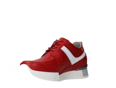 wolky lace up shoes 05882 field 36570 red leather_10