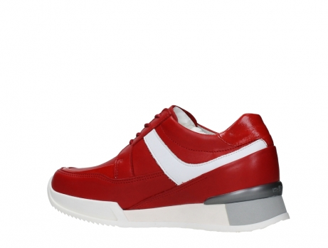 wolky lace up shoes 05882 field 36570 red leather_15
