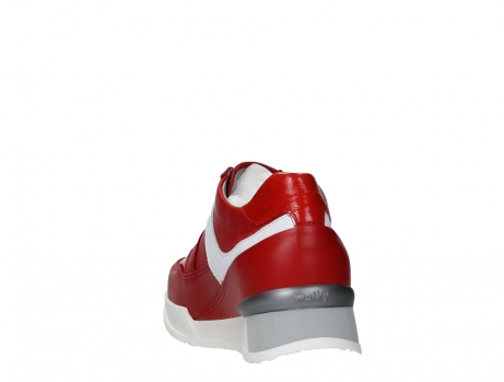 wolky lace up shoes 05882 field 36570 red leather_18