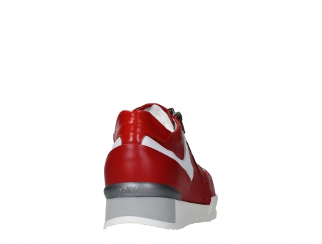 wolky lace up shoes 05882 field 36570 red leather_20