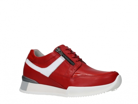 wolky lace up shoes 05882 field 36570 red leather_3