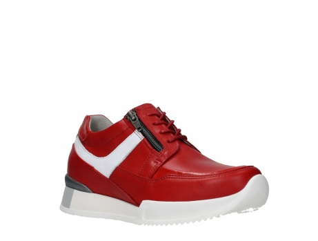 wolky lace up shoes 05882 field 36570 red leather_4