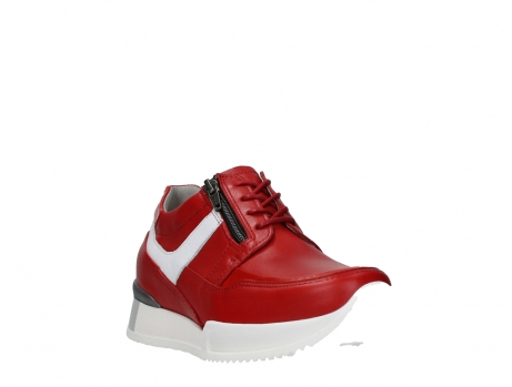 wolky lace up shoes 05882 field 36570 red leather_5