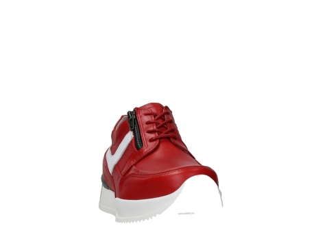 wolky lace up shoes 05882 field 36570 red leather_6