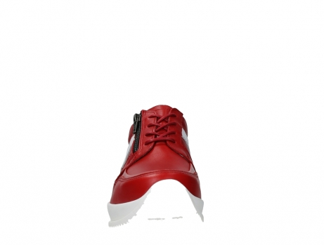 wolky lace up shoes 05882 field 36570 red leather_7