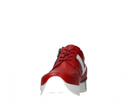 wolky lace up shoes 05882 field 36570 red leather_8