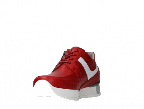 wolky lace up shoes 05882 field 36570 red leather_9