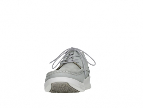 wolky lace up shoes 05901 one 10206 light grey stretch nubuck_8