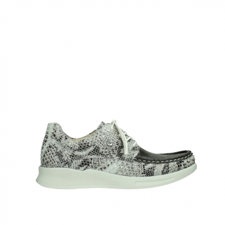 wolky lace up shoes 05901 one 91102 snakeprint stretch suede leather