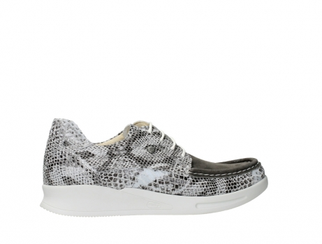 wolky lace up shoes 05901 one 91102 snakeprint stretch suede leather_24