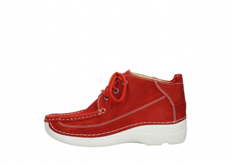 wolky lace up shoes 06200 roll moc 11570 red nubuck_1