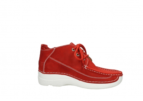 wolky lace up shoes 06200 roll moc 11570 red nubuck_14