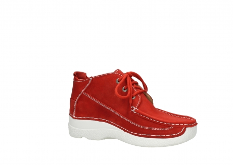 wolky lace up shoes 06200 roll moc 11570 red nubuck_15