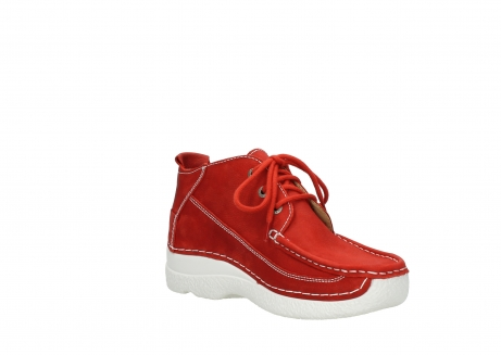 wolky lace up shoes 06200 roll moc 11570 red nubuck_16