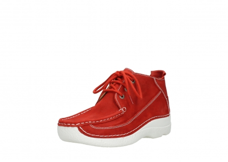 wolky lace up shoes 06200 roll moc 11570 red nubuck_22