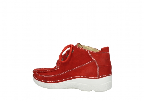 wolky lace up shoes 06200 roll moc 11570 red nubuck_3