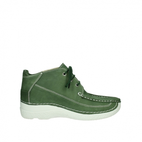 Wolky Shoes 06200 Roll Moc moss green
