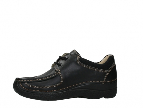 wolky lace up shoes 06216 roll shoe 30000 black leather_12