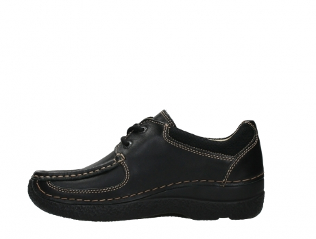 wolky lace up shoes 06216 roll shoe 30000 black leather_13