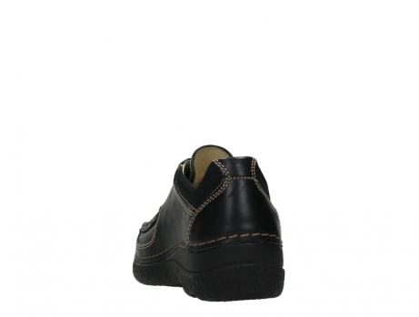wolky lace up shoes 06216 roll shoe 30000 black leather_18
