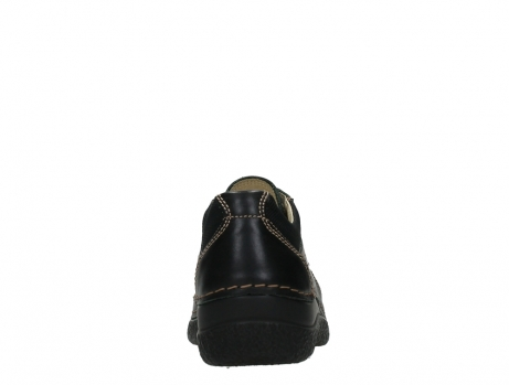 wolky lace up shoes 06216 roll shoe 30000 black leather_19
