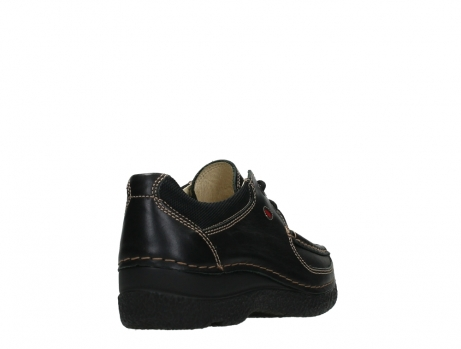 wolky lace up shoes 06216 roll shoe 30000 black leather_21