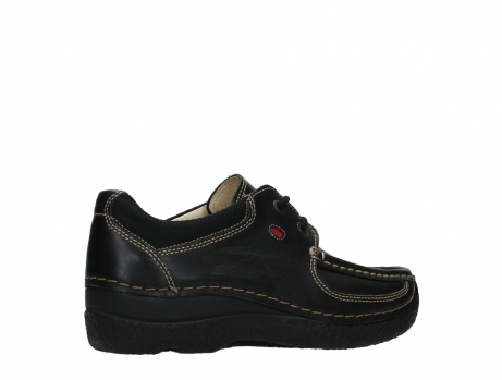 wolky lace up shoes 06216 roll shoe 30000 black leather_23
