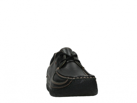 wolky lace up shoes 06216 roll shoe 30000 black leather_6