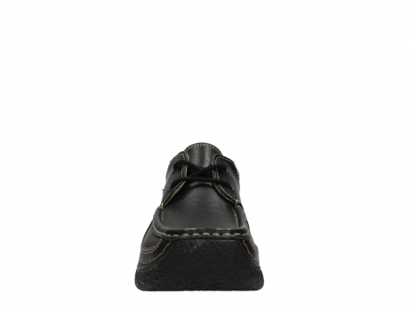 wolky lace up shoes 06216 roll shoe 30000 black leather_7