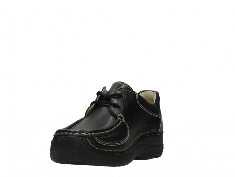 wolky lace up shoes 06216 roll shoe 30000 black leather_9