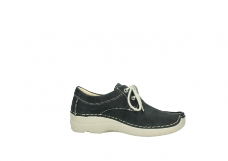 wolky lace up shoes 06286 seamy stroll 10070 black nubuck_14