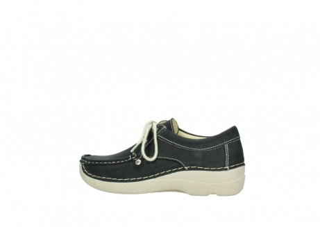 wolky lace up shoes 06286 seamy stroll 10070 black nubuck_2