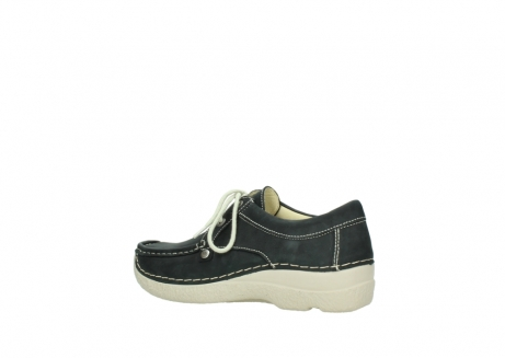wolky lace up shoes 06286 seamy stroll 10070 black nubuck_3