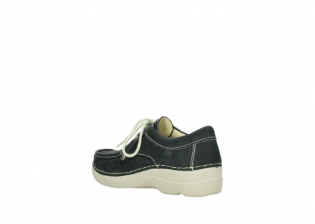 wolky lace up shoes 06286 seamy stroll 10070 black nubuck_4