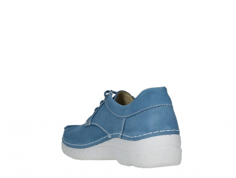 wolky lace up shoes 06289 seamy up 11856 baltic blue nubuck_17