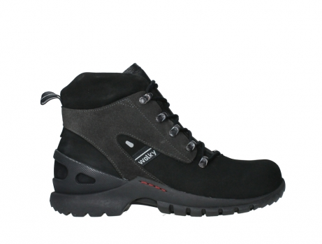 wolky lace up boots 06505 traction 16000 black nubuck_1