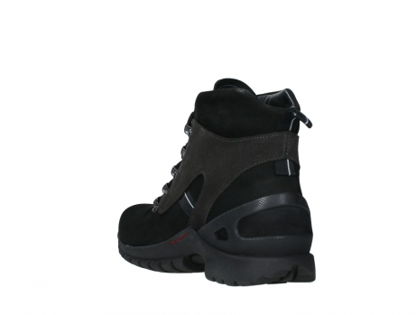 wolky lace up boots 06505 traction 16000 black nubuck_17