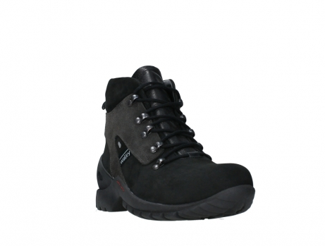 wolky lace up boots 06505 traction 16000 black nubuck_5