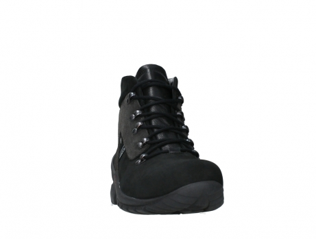 wolky lace up boots 06505 traction 16000 black nubuck_6